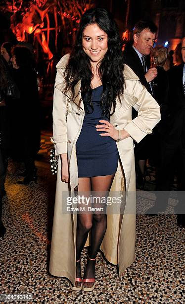 Eliza Doolittle attends an after party following the press night performance of 'The Book of Mormon' at the Natural History Museum on March 21 2013...