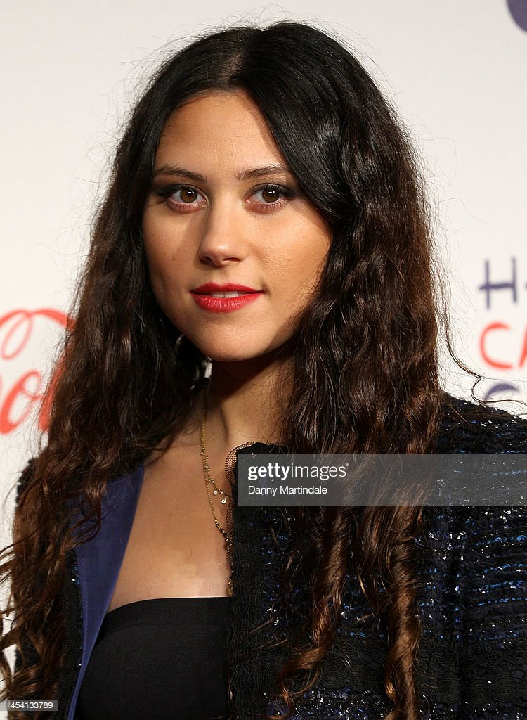 Eliza Doolittle attends on day 1 of the Capital FM Jingle Bell Ball at 02 Arena on December 7, 2013 in London, England.