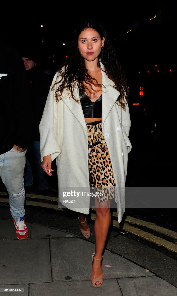 Eliza Doolittle attends Superdry AW14 catwalk event as part of London Collections: Men at The Old Sorting Office on January 7, 2014 in London, England.