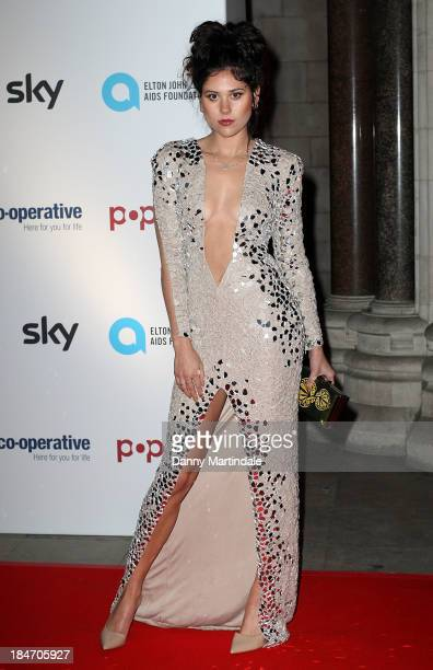 Eliza Doolittle attends the Attitude Magazine awards at Royal Courts of Justice Strand on October 15 2013 in London England