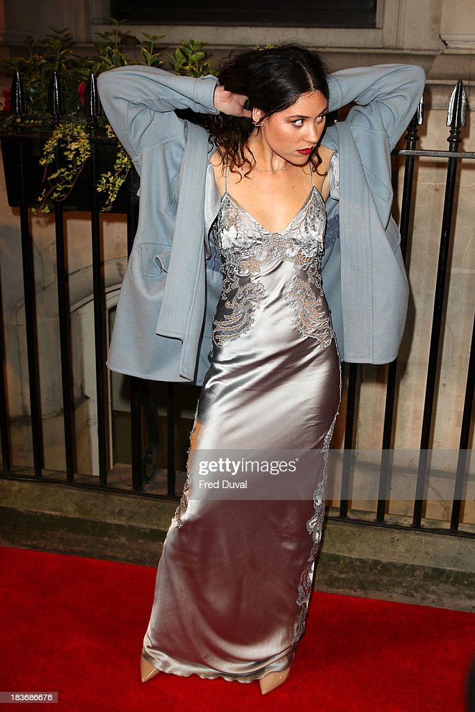 Eliza Doolittle attends the BFI Gala Dinner at 8 Northumberland Avenue on October 8, 2013 in London, England.