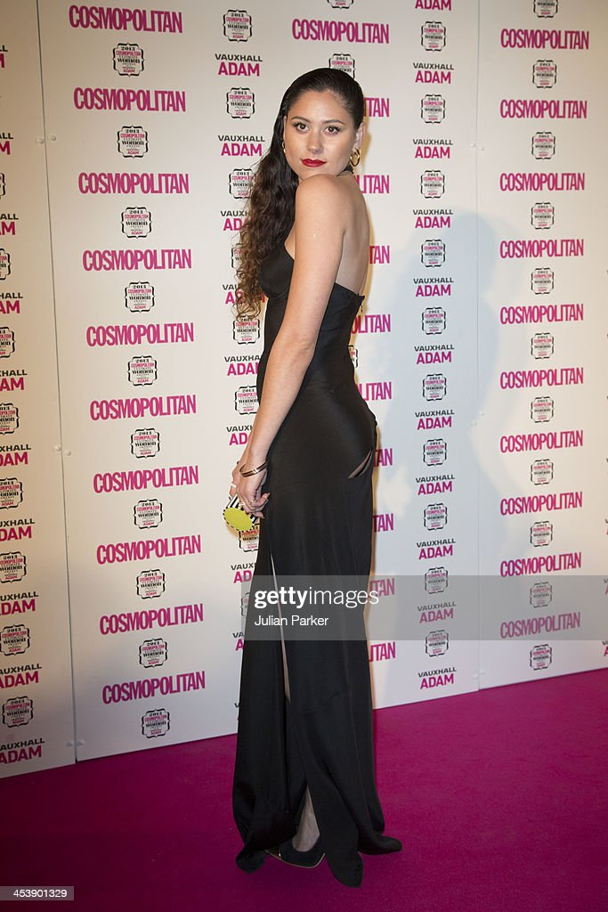 Eliza Doolittle attends the Cosmopolitan Ultimate Women of the Year Awards at Victoria & Albert Museum on December 5, 2013 in London, England.