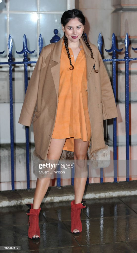 Eliza Doolittle attends the Creative London party hosted by the British Fashion Council, British Academy of Film and Television Arts and The British Recorded Music Industry during London Fashion Week AW14 at Spencer House on February 17, 2014 in London, England.