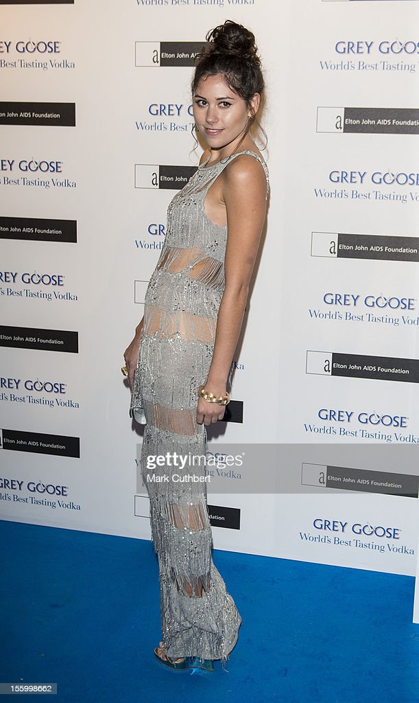 Eliza Doolittle attends the Grey Goose Winter Ball at Battersea Power station on November 10, 2012 in London, England.