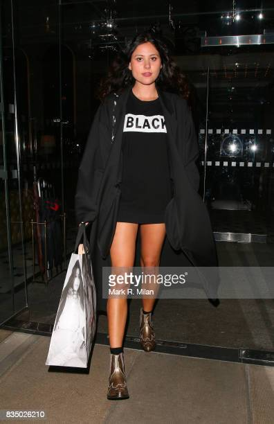 Eliza Doolittle attends the GUESS Loves Priyanka VIP Dinner at the London Edition Hotel on January 20 2014 in London England