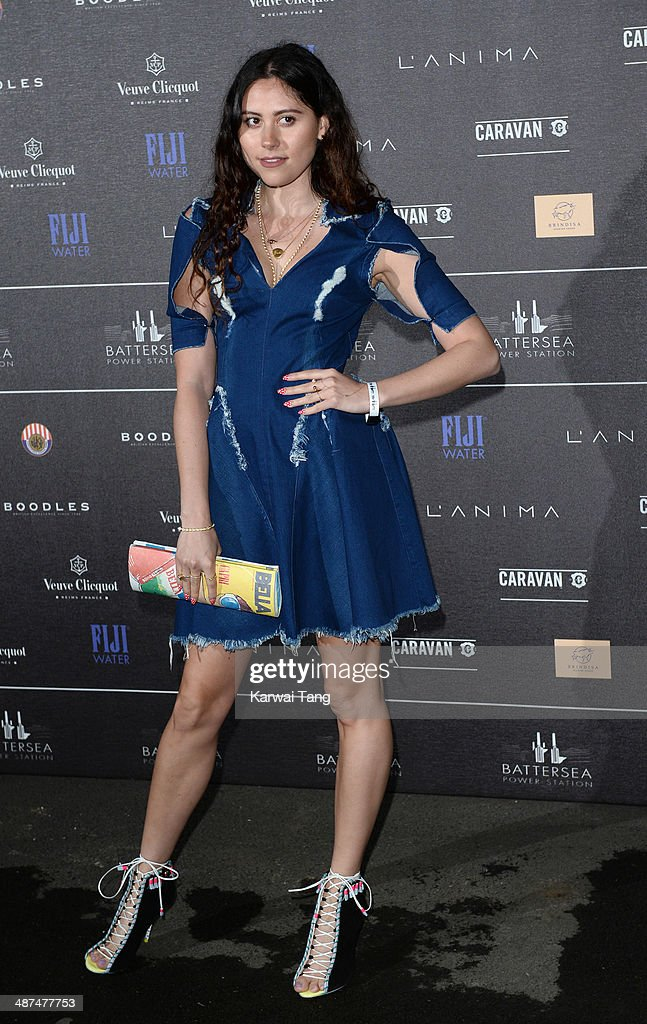 Eliza Doolittle attends the inaugural Battersea Power Station annual party held at Battersea Power station on April 30, 2014 in London, England.