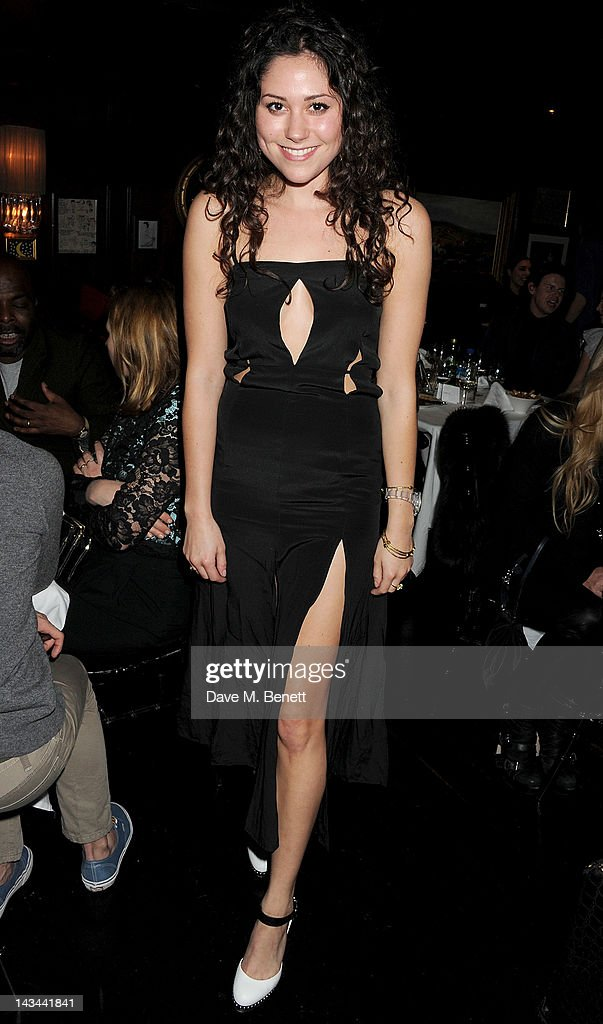 Eliza Doolittle attends the launch of The Lion pop-up restaurant at The Brompton Club featuring a private dinner for Joseph Altuzarra hosted by Browns on April 26, 2012 in London, England.