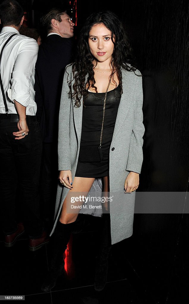 Eliza Doolittle attends the launch of The Vinyl Collection curated by Annie Mac and the AMP 2013 album at W London - Leicester Square on October 9, 2013 in London, England.