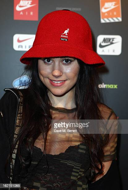 Eliza Doolittle attends the Nike Air Max Anniversary party celebrating the 25th anniversary of the iconic Air Max shoe at the London Film Museum...