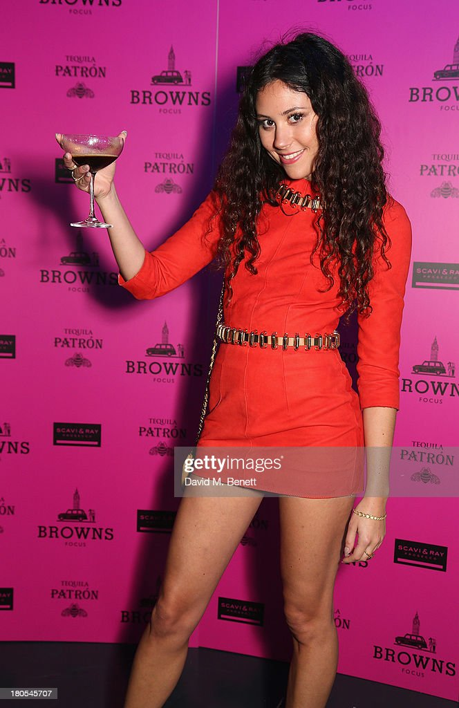 <a gi-track='captionPersonalityLinkClicked' href=/galleries/search?phrase=Eliza+Doolittle+-+Singer&family=editorial&specificpeople=7023843 ng-click='$event.stopPropagation()'>Eliza Doolittle</a> attends the party hosted by Browns Focus & Designer Brian Lichtenberg to officially launch the NEW Browns Focus at 24 South Molton Street on September 14, 2013 in London, United Kingdom.
