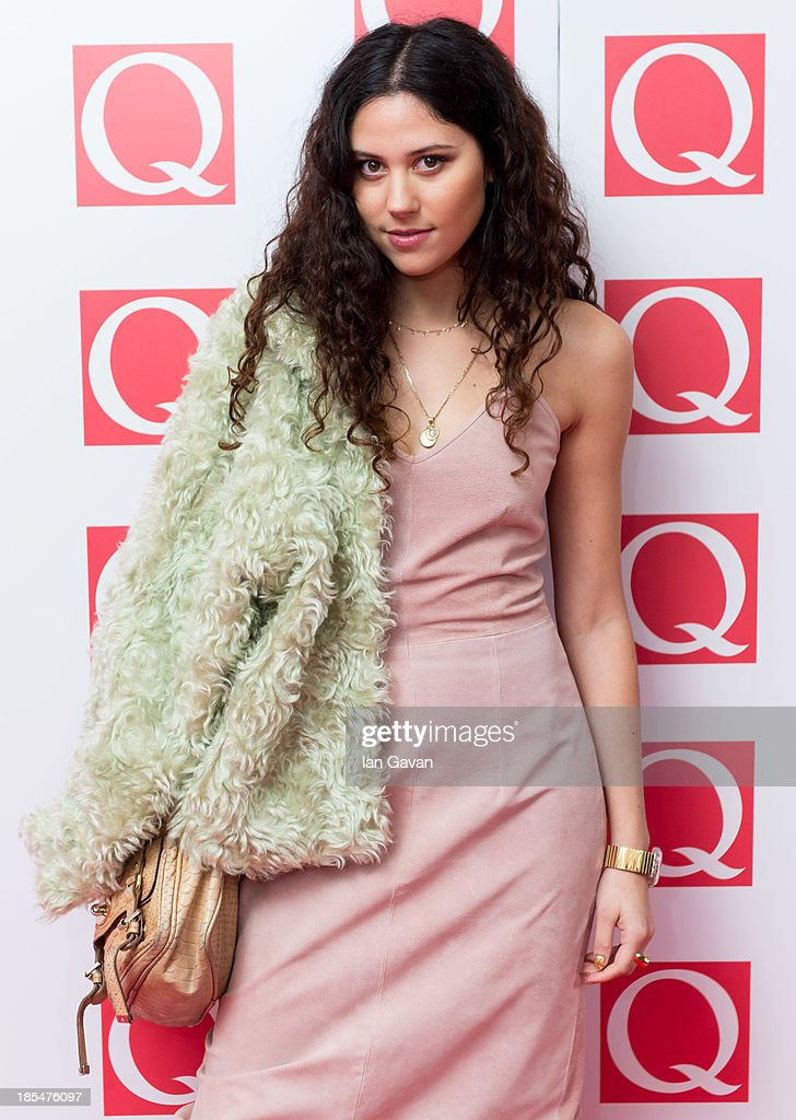 Eliza Doolittle attends The Q Awards at The Grosvenor House Hotel on October 21, 2013 in London, England.