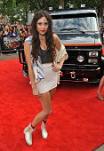 Eliza Doolittle attends the UK Film Premiere of 'The ATeam' at Empire Leicester Square on July 27 2010 in London England
