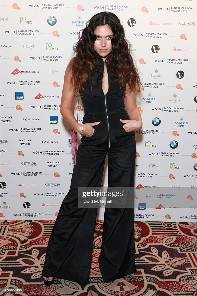 WGSN Global Fashion Awards 2015 - Arrivals