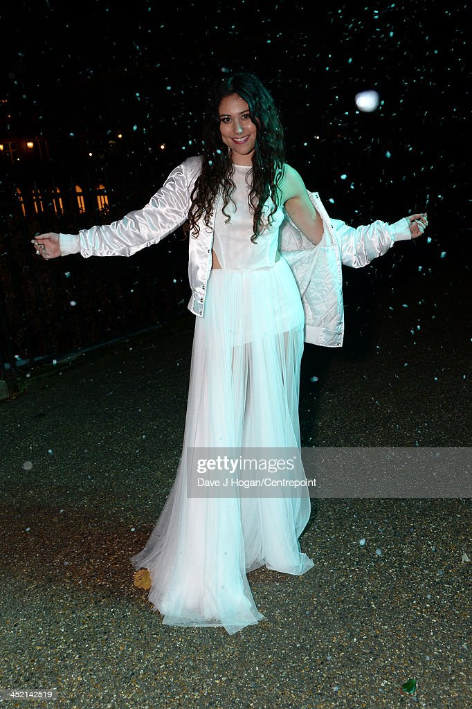 Eliza Doolittle attends Winter Whites Gala In Aid Of Centrepoint on November 26, 2013 in London, England.