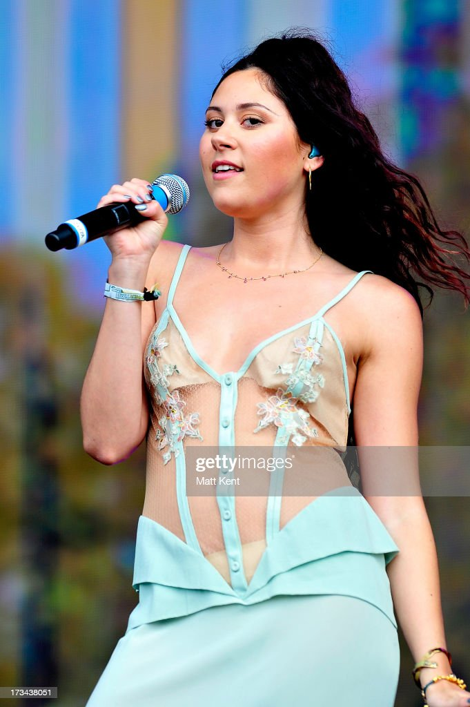 Eliza Doolittle performs during day six of British Summer Time Hyde Park presented by Barclaycard at Hyde Park on July 14, 2013 in London, England.