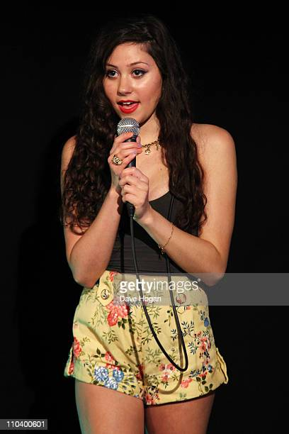 Eliza Doolittle performs for a Biz Session to promote her new album 'Eliza Doolittle' on June 14 2010 in London England