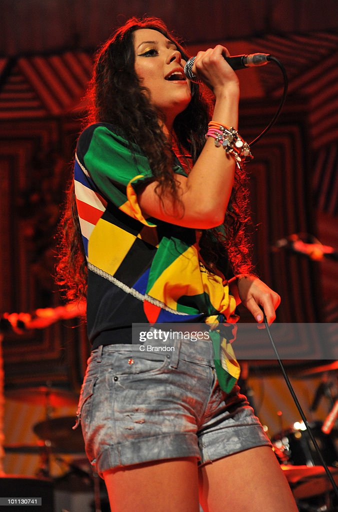 Eliza Doolittle performs on stage at The Roundhouse on May 27, 2010 in London, England.