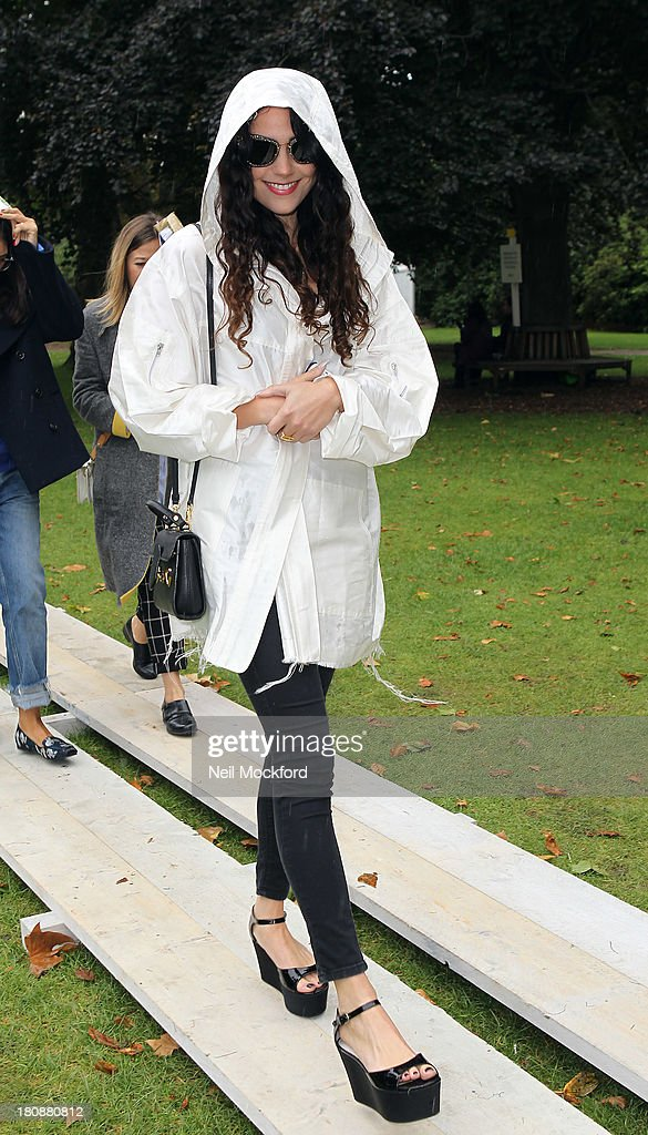 Eliza Doolittle seen at Fashion East fasion show on September 17, 2013 in London, England.