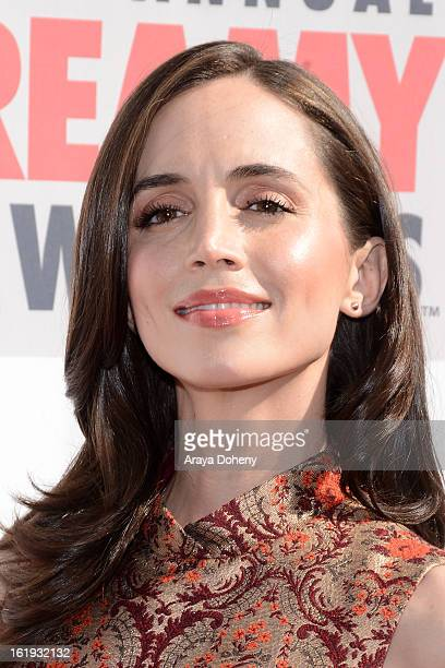 Eliza Dushku arrives at the 3rd Annual Streamy Awards at The Hollywood Palladium on February 17 2013 in Los Angeles California