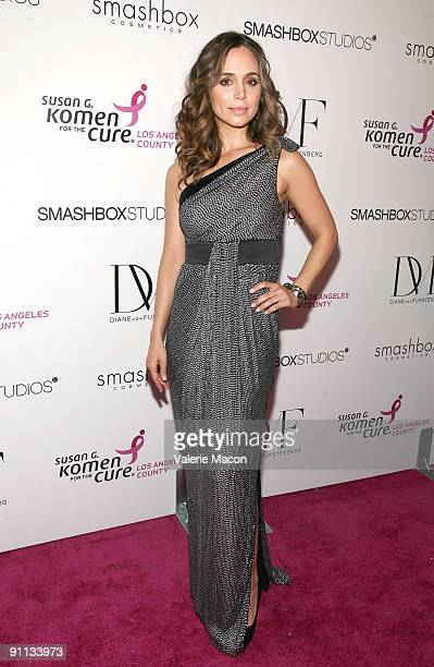 Eliza Dushku attends Susan G Komen's 8th annual fashion for the cure on September 24 2009 in West Hollywood California