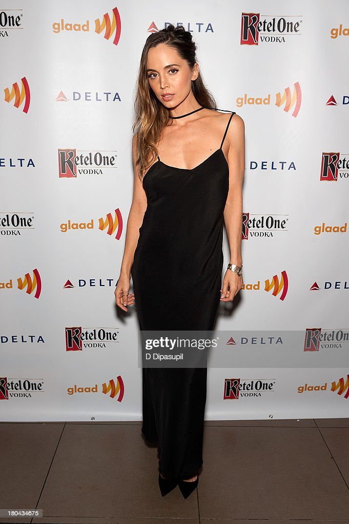 <a gi-track='captionPersonalityLinkClicked' href=/galleries/search?phrase=Eliza+Dushku&family=editorial&specificpeople=209091 ng-click='$event.stopPropagation()'>Eliza Dushku</a> attends the GLAAD Manhattan Summer 2013 Benefit at Gansevoort Park Avenue on September 12, 2013 in New York City.