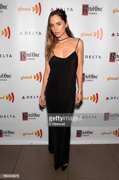 Eliza Dushku attends the GLAAD Manhattan Summer 2013 Benefit at Gansevoort Park Avenue on September 12 2013 in New York City