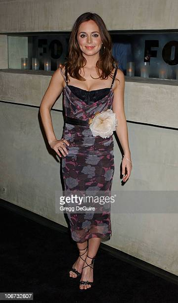 Eliza Dushku during 2004 Fox Broadcasting Network Prime Time Lineup Party Arrivals at Dolce Restaurant in Los Angeles California United States