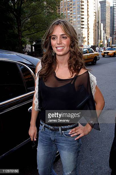 Eliza Dushku during Eliza Dushku Sighting on Streets of Manhattan at Manhattan in New York City New York United States