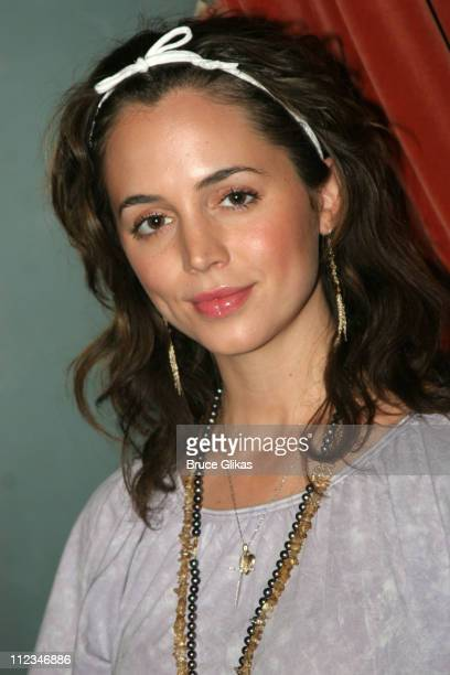 Eliza Dushku during OffBroadway 'Dog Sees God Confessions of a Teenage Blockhead' Rehearsals November 15 2005 at Century Theater in New York City New...