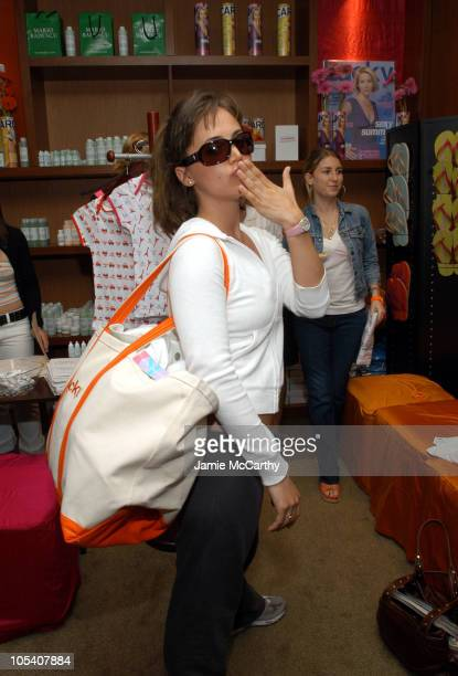 Eliza Dushku during The Lucky/Cargo Club An Upfront Week Hospitality Suite Day 3 at Le Parker Meridien in New York City New York United States