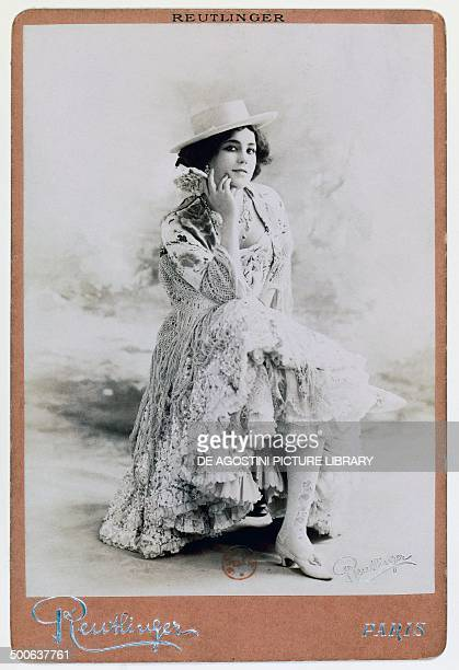 Eliza Rosanna Gilbert known as Lola Montez Irish dancer and stage actress mistress of King Ludwig I of Bavaria photo by Reutlinger 19th century Paris...