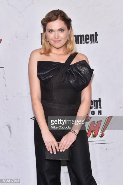 Eliza Taylor at Entertainment Weekly's annual ComicCon party in celebration of ComicCon 2017 at Float at Hard Rock Hotel San Diego on July 22 2017 in...