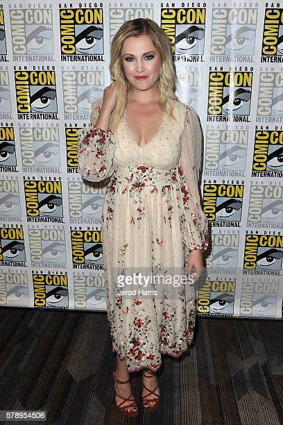 Eliza Taylor attends the media panel for 'The 100' at ComicCon International on July 22 2016 in San Diego California