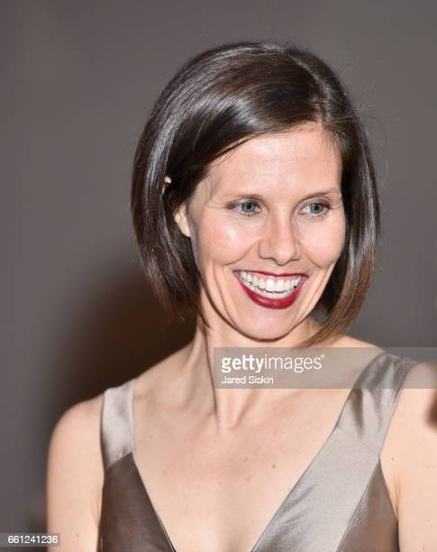Elizabeth Ahlquist attends the First Annual Medair Gala at Stephan Weiss Studio on March 30 2017 in New York City