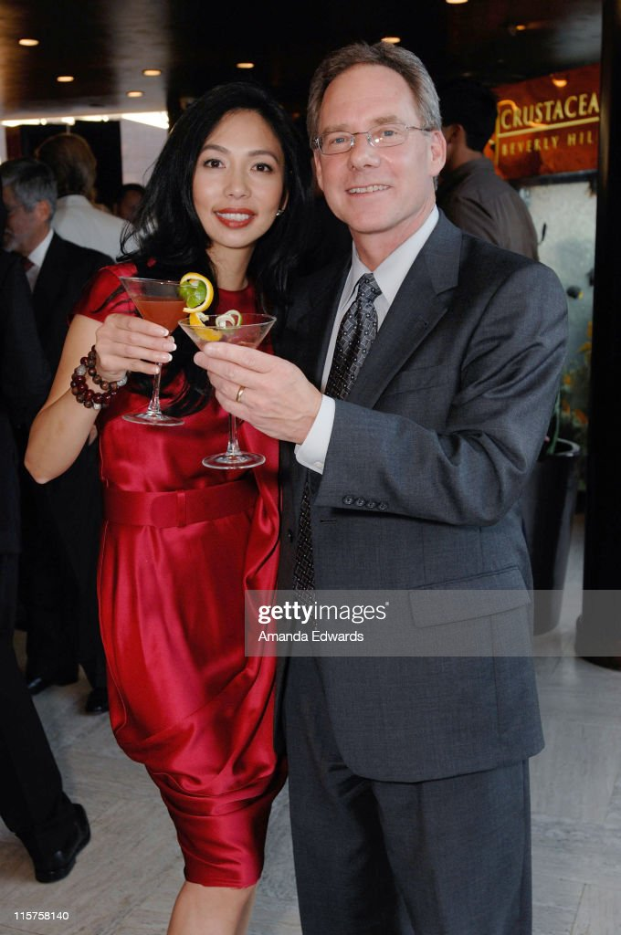 Elizabeth An and Daniel Walsh attend the Launch Of The New Beverly Hills Drink 'THE BEVERLY' at Crustacean on September 18, 2008 in Los Angeles, California.