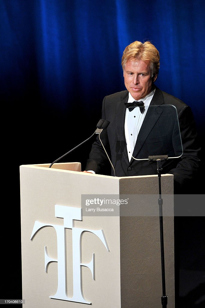 Elizabeth Arden CEO E. Scott Beattie speaks at the 2013 Fragrance Foundation Awards at Alice Tully Hall at Lincoln Center on June 12, 2013 in New York City.