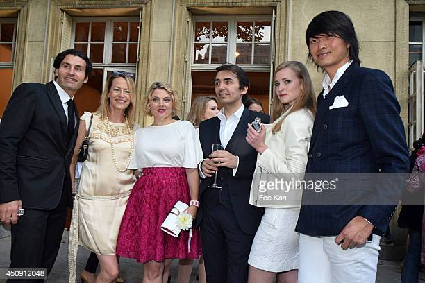Elizabeth Arden nose Clement Gavarry Gabrielle Lazure Sophie Guillemin Commercial director France Axel Lecomte Juliette Gernez and PR Axel Huyhn...