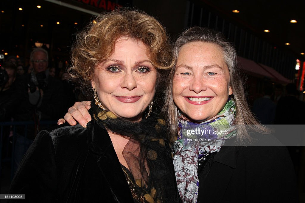 Elizabeth Ashley and Cherry Jones attends the 'Who's Afraid Of Virginia Woolf?' Broadway Opening Night at The Booth Theatre on October 13, 2012 in New York City.