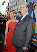 Elizabeth Banks and Brian Wilson attend the premiere of 'Love Mercy' at Samuel Goldwyn Theater on June 2 2015 in Beverly Hills California
