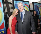 Elizabeth Banks and Brian Wilson attend the Roadside Attractions' Premiere Of 'Love Mercy' at the Samuel Goldwyn Theater on June 2 2015 in Beverly...