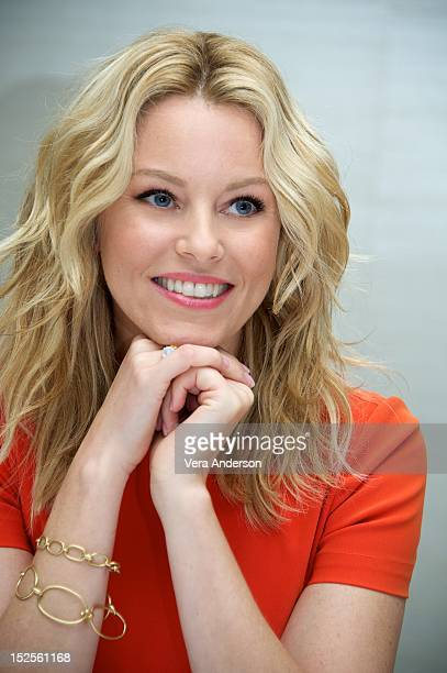 Elizabeth Banks at the 'Pitch Perfect' Press Conference at the London Hotel on September 21 2012 in West Hollywood California