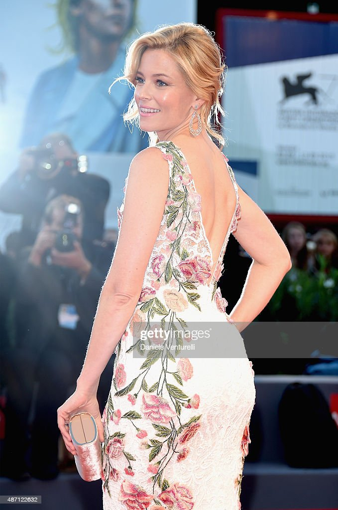 Elizabeth Banks attends a premiere for 'A Bigger Splash' during the 72nd Venice Film Festival at on September 6 2015 in Venice Italy