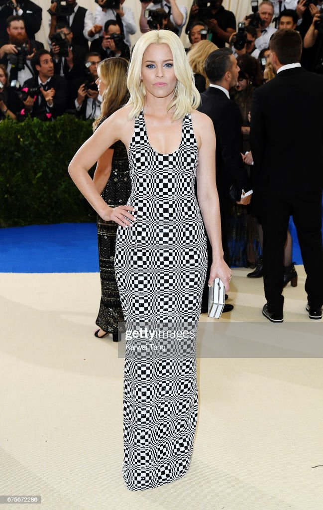 Elizabeth Banks attends 'Rei Kawakubo/Comme des Garcons: Art Of The In-Between' Costume Institute Gala at Metropolitan Museum of Art on May 1, 2017 in New York City.