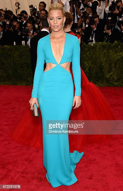 Elizabeth Banks attends the 'China Through The Looking Glass' Costume Institute Benefit Gala at the Metropolitan Museum of Art on May 4 2015 in New...