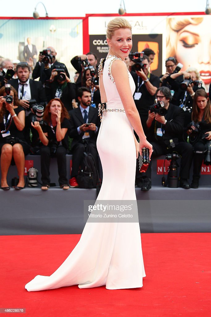 Elizabeth Banks attends the opening ceremony and premiere of 'Everest' during the 72nd Venice Film Festival on September 2, 2015 in Venice, Italy.