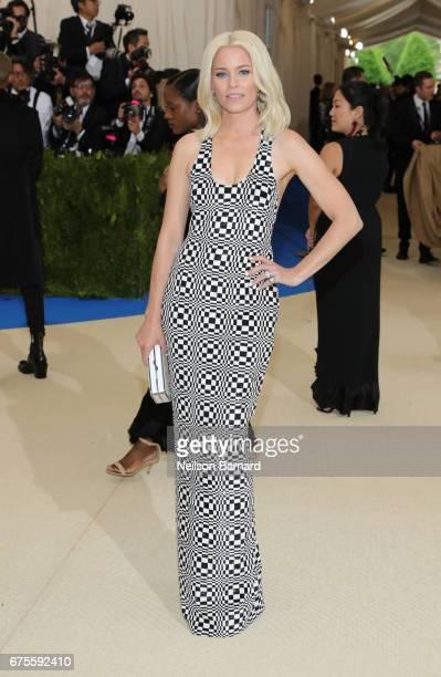 Elizabeth Banks attends the 'Rei Kawakubo/Comme des Garcons Art Of The InBetween' Costume Institute Gala at Metropolitan Museum of Art on May 1 2017...