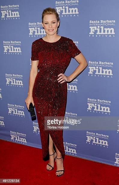 Elizabeth Banks attends the Santa Barbara International Film Festival annual Kirk Douglas Award for Excellence in Film honoring Jane Fonda at Bacara...
