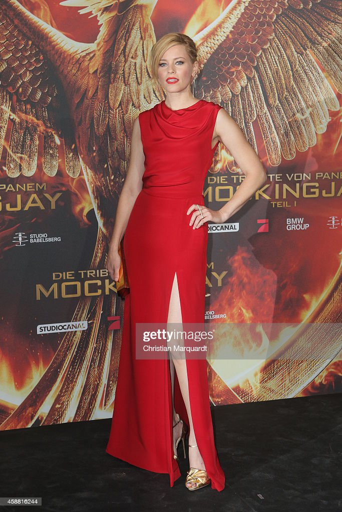 <a gi-track='captionPersonalityLinkClicked' href=/galleries/search?phrase=Elizabeth+Banks&family=editorial&specificpeople=202475 ng-click='$event.stopPropagation()'>Elizabeth Banks</a> attends the 'The Hunger Games: Mockingjay Part 1' preview event at Kraftwerk Mitte on November 11, 2014 in Berlin, Germany.