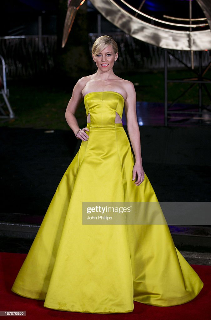 <a gi-track='captionPersonalityLinkClicked' href=/galleries/search?phrase=Elizabeth+Banks&family=editorial&specificpeople=202475 ng-click='$event.stopPropagation()'>Elizabeth Banks</a> attends the UK Premiere of 'The Hunger Games: Catching Fire' at Odeon Leicester Square on November 11, 2013 in London, England.