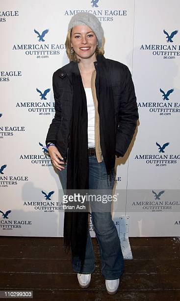 Elizabeth Banks during 2007 Park City American Eagle Outfitters at the Village at the Lift Party at American Eagle Outfitters Gift Suite and Spa in...